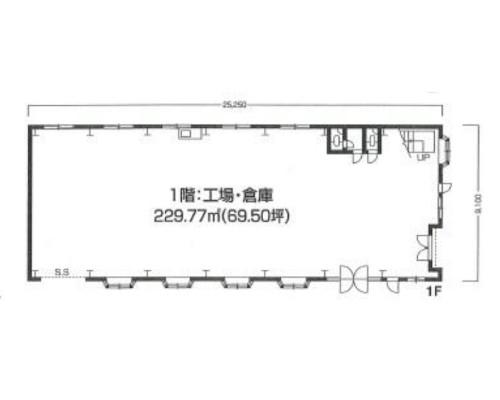 戸田市 JR埼京線北戸田駅の貸工場・貸倉庫画像(1)