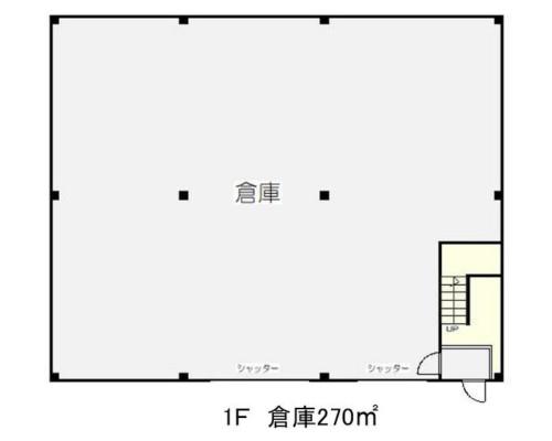 川越市 東武東上線川越駅の貸倉庫画像(1)