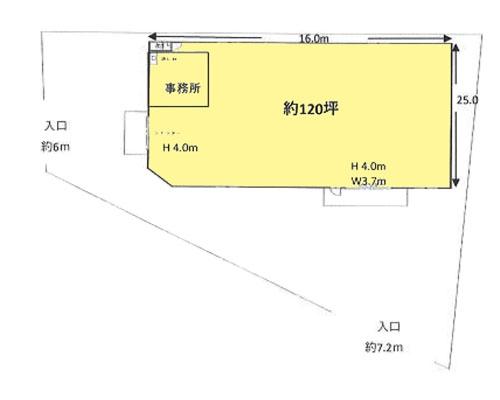 比企郡川島町 東武東上線高坂駅の貸倉庫画像(1)