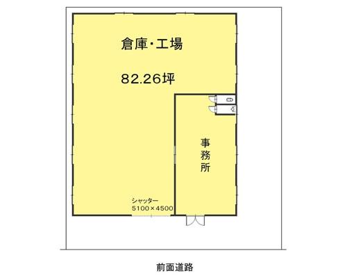 川越市 西武新宿線本川越駅の貸工場・貸倉庫画像(1)