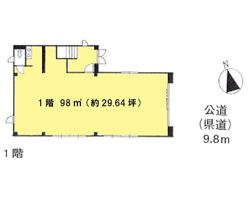志木市 東武東上線志木駅の貸事務所画像(1)