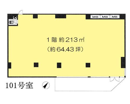 川口市 JR武蔵野線東浦和駅の貸事務所画像(1)