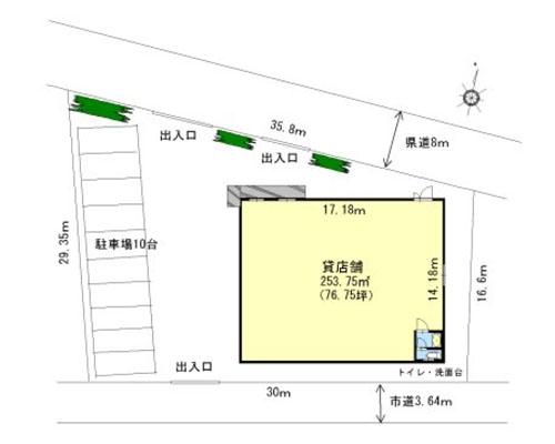上尾市 JR高崎線上尾駅の貸店舗画像(1)