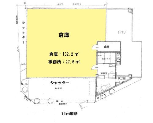 さいたま市北区 JR東北本線土呂駅の貸倉庫画像(1)