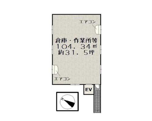 越谷市 東武伊勢崎線大袋駅の貸倉庫画像(2)