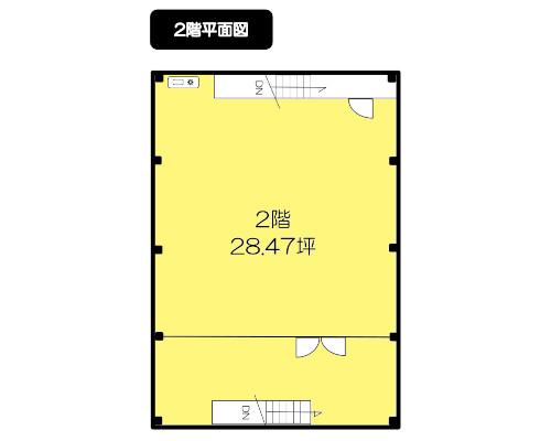 板橋区 東武東上線上板橋駅の貸工場・貸倉庫画像(2)