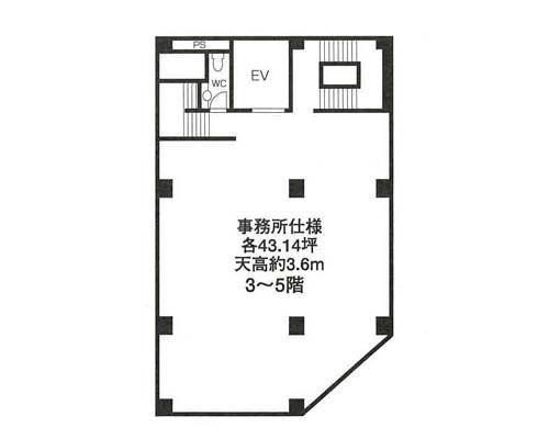 江東区 JR総武線亀戸駅の貸倉庫画像(3)