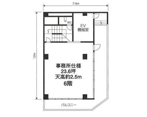 江東区 JR総武線亀戸駅の貸倉庫画像(4)