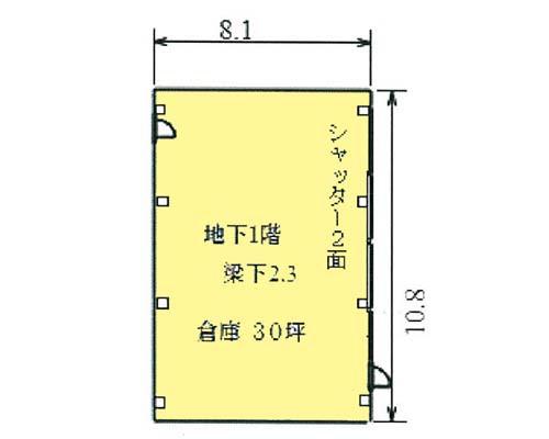板橋区 東武東上線成増駅の貸倉庫画像(1)