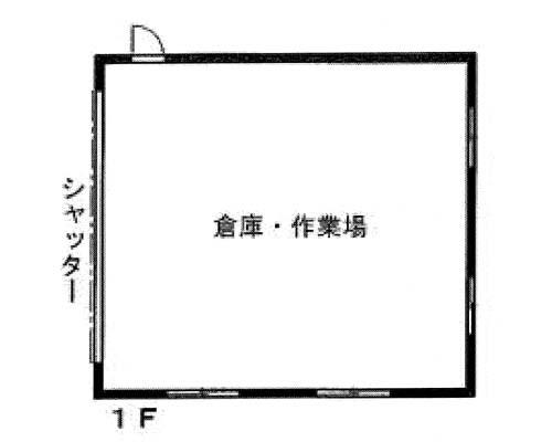 あきる野市 JR青梅線福生駅の貸倉庫画像(1)