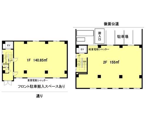 大田区 東急大井町線北千束駅の貸倉庫画像(1)