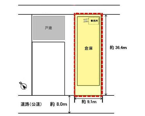 葛飾区 JR中央線新小岩駅の貸倉庫画像(1)