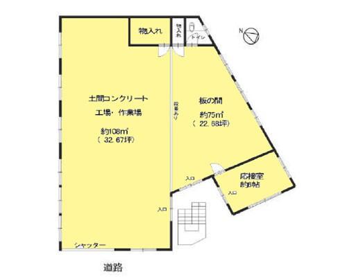 葛飾区 京成本線堀切菖蒲園駅の貸工場・貸倉庫画像(1)