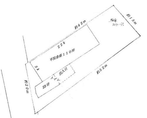 立川市 西武拝島線武蔵砂川駅の貸倉庫画像(1)