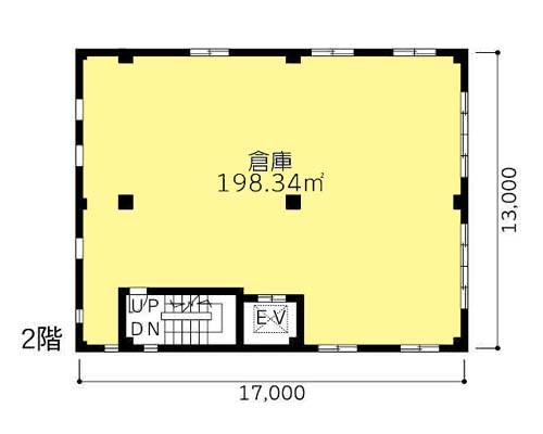 三鷹市 JR中央線武蔵境駅の貸倉庫画像(2)