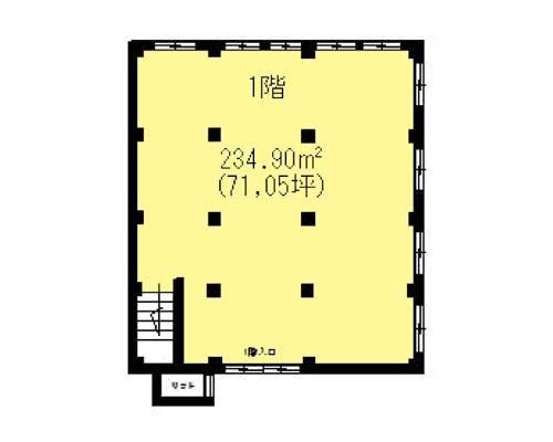 北区 南北線赤羽岩淵駅の貸倉庫画像(1)