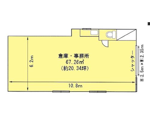 調布市 京王線柴崎駅の貸倉庫画像(1)