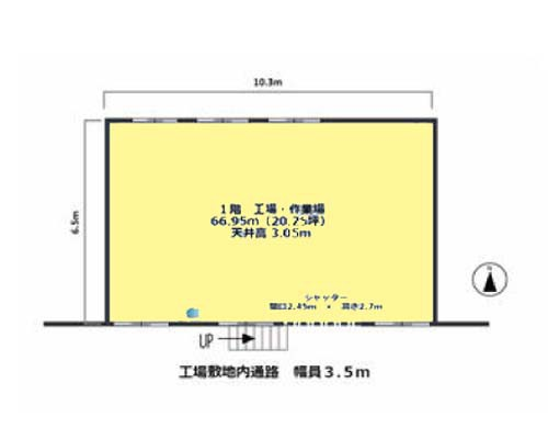 大田区 京浜急行本線梅屋敷駅の貸工場・貸倉庫画像(1)