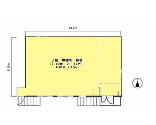 大田区 京浜急行本線梅屋敷駅の貸工場・貸倉庫画像(2)