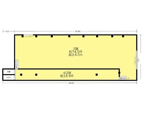 大田区 都営浅草線西馬込駅の貸工場・貸倉庫画像(1)