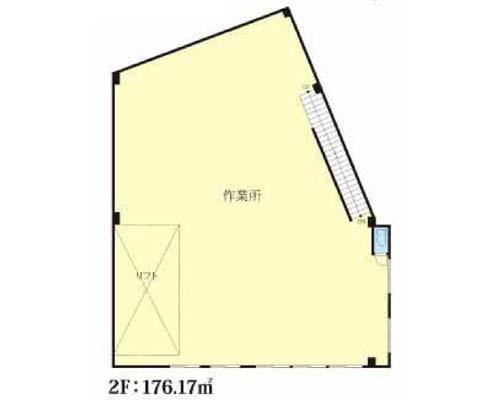 板橋区 東武東上線東武練馬駅の貸工場・貸倉庫画像(2)