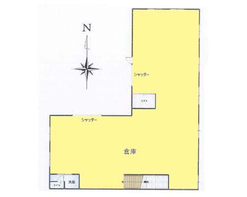 昭島市 JR青梅線中神駅の貸倉庫画像(1)