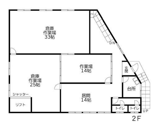 葛飾区 京成本線お花茶屋駅の貸倉庫画像(2)