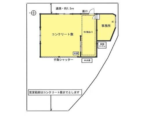青梅市 JR青梅線東青梅駅の貸工場・貸倉庫画像(1)
