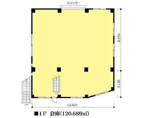 足立区 日暮里・舎人ライナー谷在家駅の貸倉庫画像(1)