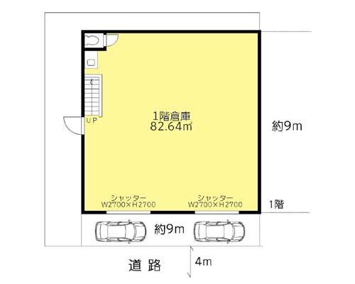 墨田区 都営浅草線押上駅の貸倉庫画像(1)