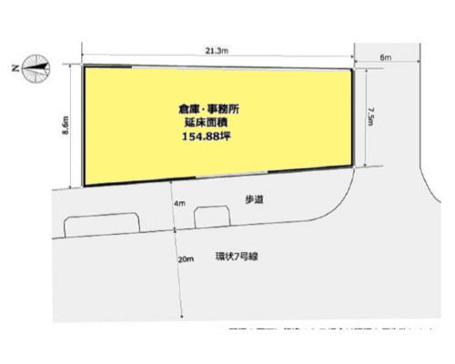 江戸川区 都営新宿線瑞江駅の貸倉庫画像(1)