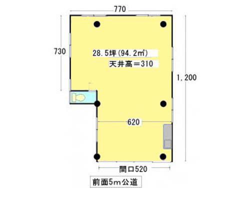 大田区 京急空港線糀谷駅の貸工場・貸倉庫画像(1)