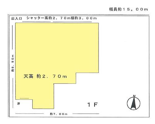 江東区 都営新宿線菊川駅の貸倉庫画像(1)