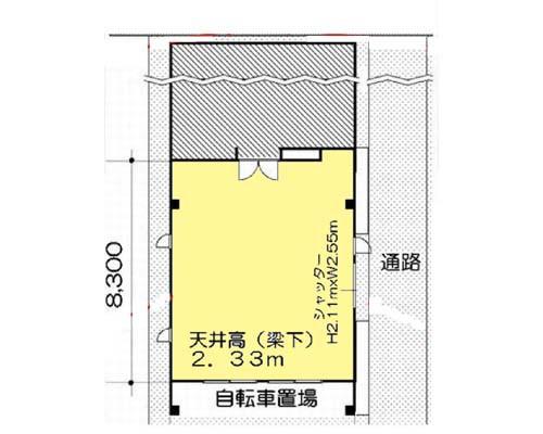 江東区 東武亀戸線亀戸水神駅の貸倉庫画像(1)