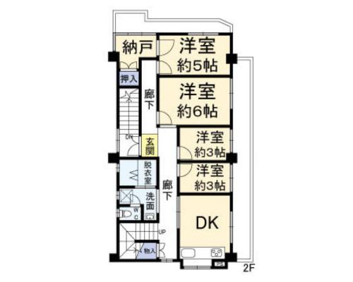 練馬区 西武池袋線富士見台駅の貸寮画像(1)