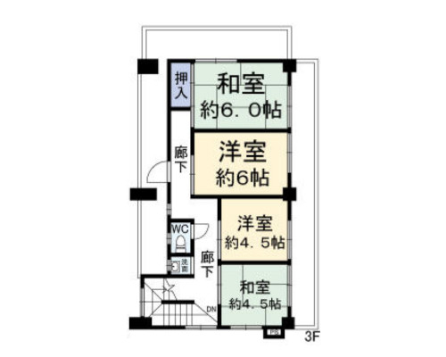 練馬区 西武池袋線富士見台駅の貸寮画像(2)