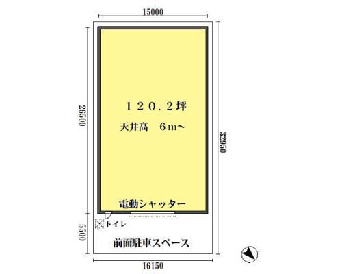 足立区 日暮里・舎人ライナー舎人駅の貸倉庫画像(1)