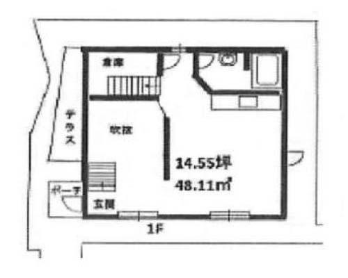 渋谷区 千代田線明治神宮前駅の貸倉庫画像(2)