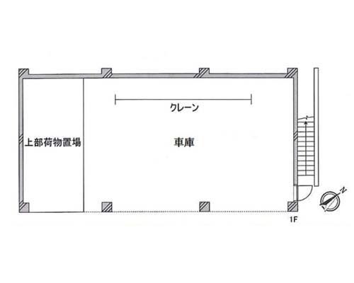 日野市 JR中央本線豊田駅の貸倉庫画像(1)