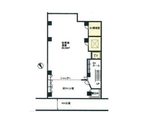 台東区 つくばエクスプレス浅草駅の貸倉庫画像(1)