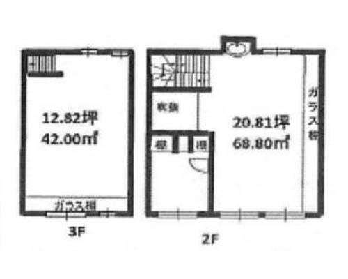 渋谷区 千代田線明治神宮前駅の貸事務所画像(3)