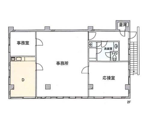 日野市 JR中央本線(東京~塩尻)豊田駅の貸事務所画像(2)