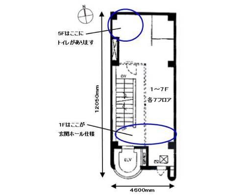 千代田区 東京メトロ丸の内線淡路町駅の貸店舗画像(1)