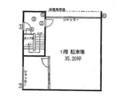 墨田区 JR総武本線錦糸町駅の貸店舗画像(1)