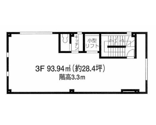 目黒区 東急東横線祐天寺駅の貸事務所画像(3)
