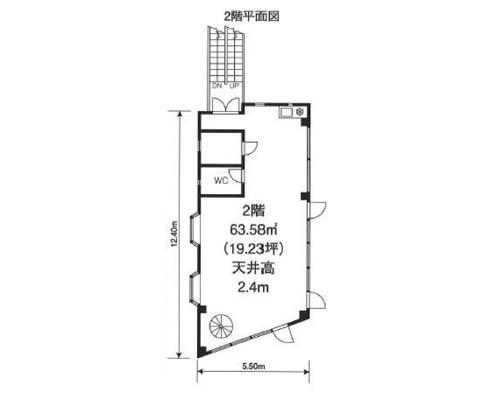 板橋区 都営三田線志村坂下駅の貸事務所画像(2)