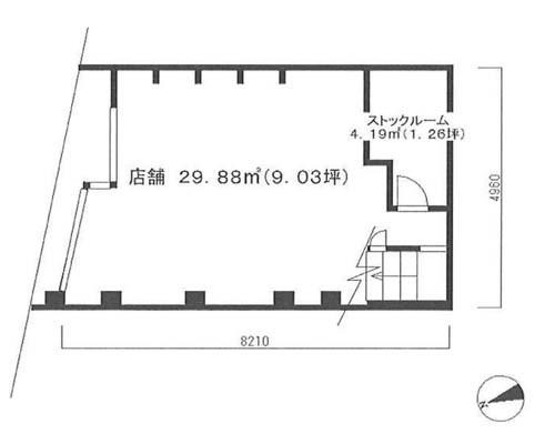 大田区 京浜急行線雑色駅の貸倉庫画像(1)