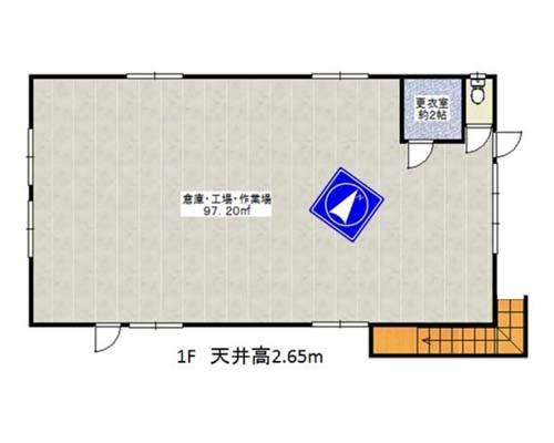 八王子市 京王線北野駅の貸工場・貸倉庫画像(1)