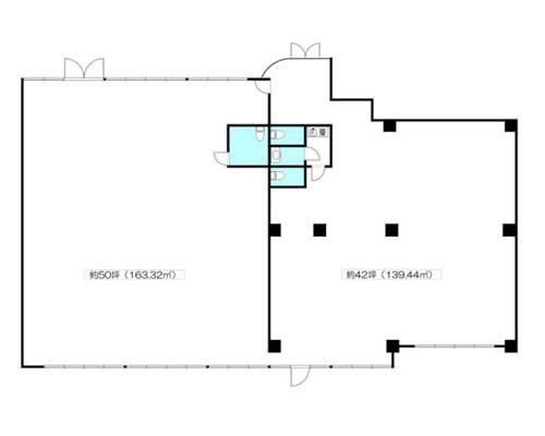 東大和市 西武拝島線東大和市駅の貸事務所画像(1)