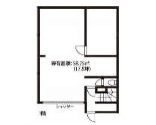 墨田区 京成押上線京成曳舟駅の貸店舗画像(1)